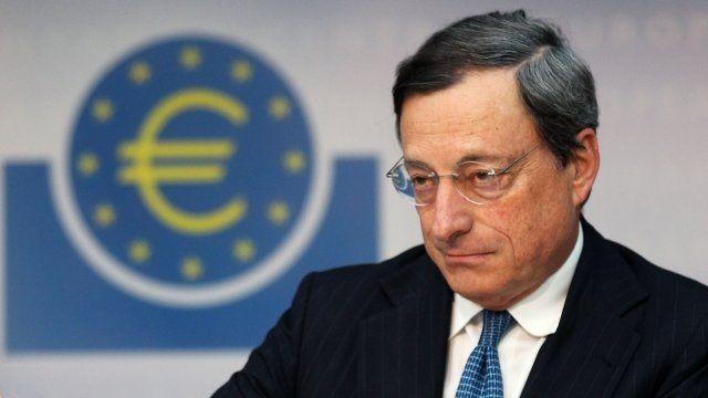 President of European Central Bank Mario Draghi