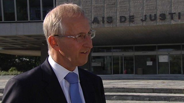 British Ambassador Sir Peter Ricketts