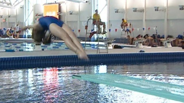 Diving at Plymouth Life Centre