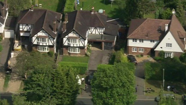 al-Hilli residence in Claygate