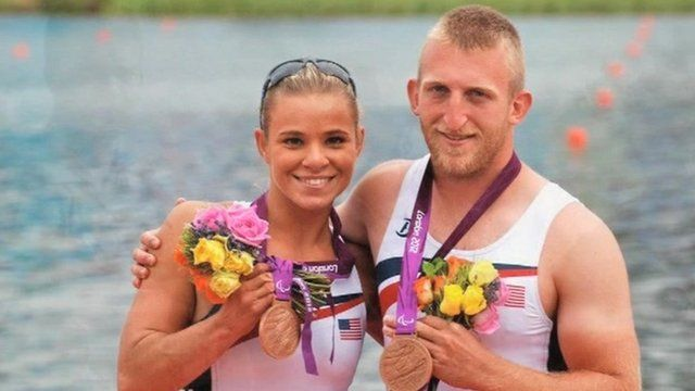 Rowers with medals