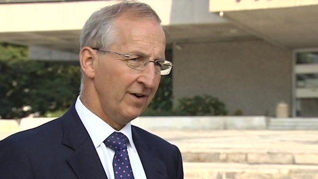 British ambassador to France, Sir Peter Ricketts