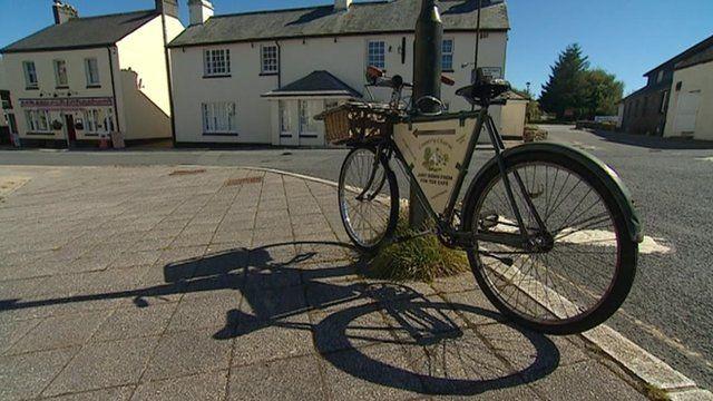 Bike on Dartmoor