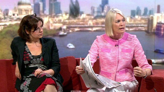 Rebecca Front, Margot James MP