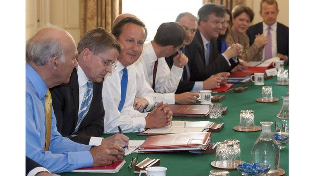 The new cabinet