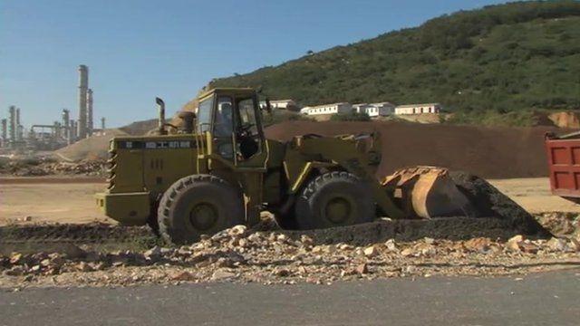 Road digger China
