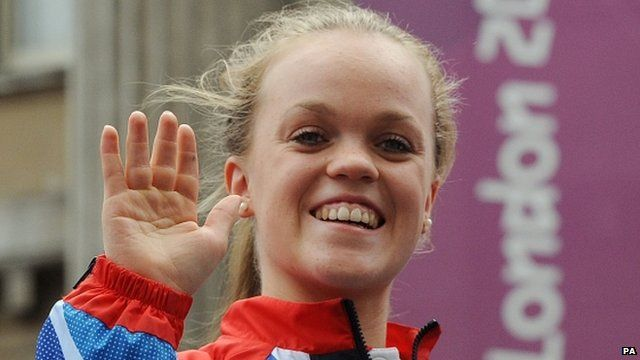 Swimmer and Paralympic gold medallist Ellie Simmonds