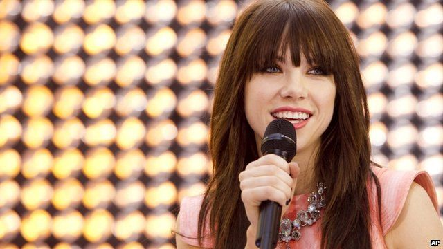 """Carly Rae Jepsen performs on NBC's """"Today"""" show in New York - Aug 23"""