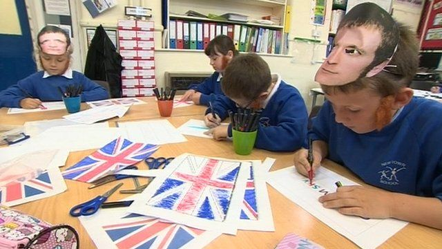 Carlisle pupils prepare to welcome the Tour of Britain teams