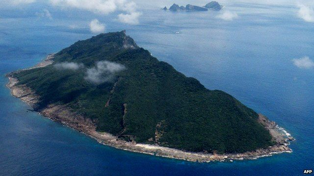 China and Japan have been locked in a diplomatic spat over the islands