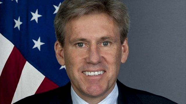 US ambassador to Libya, Christopher Stevens.
