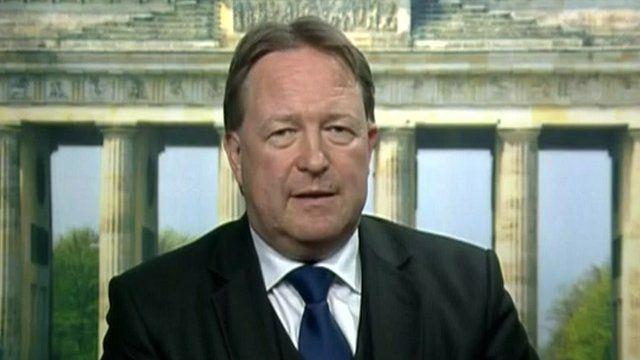 German parliament member Joachim Spatz