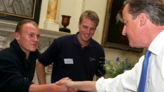Thomas Mack meets David Cameron