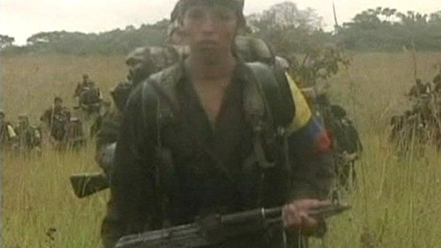 Young FARC soldier