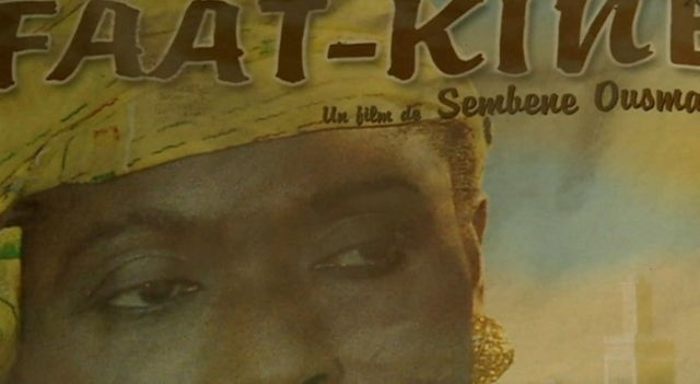 A poster of an old Senegalese movie