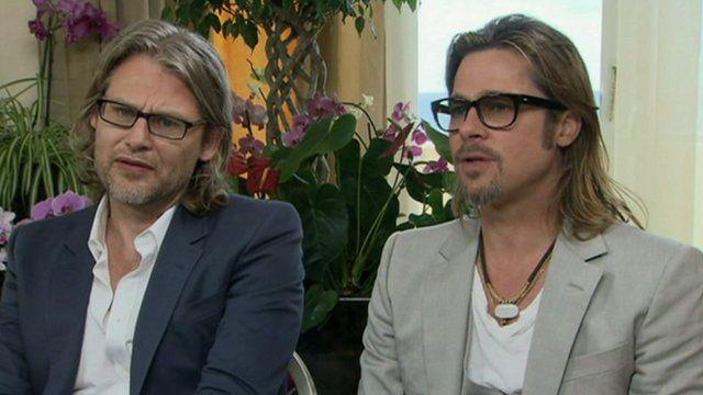 Andrew Dominik and Brad Pitt