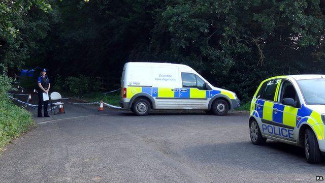 crime scene near Ilminster