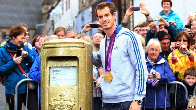 Andy Murray in Dunblane