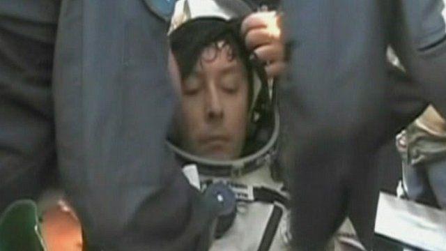 Soyuz crew member