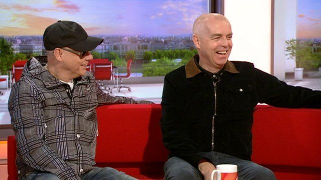 Chris Lowe and Neil Tennant