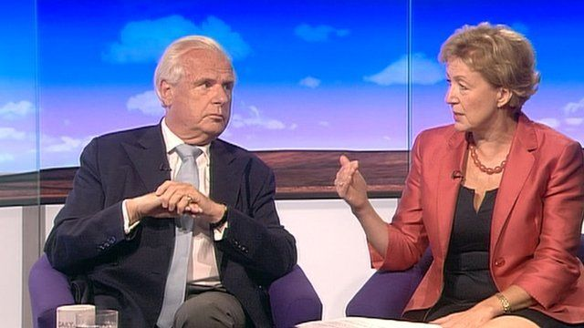 Lord Myners and Andrea Leadsom