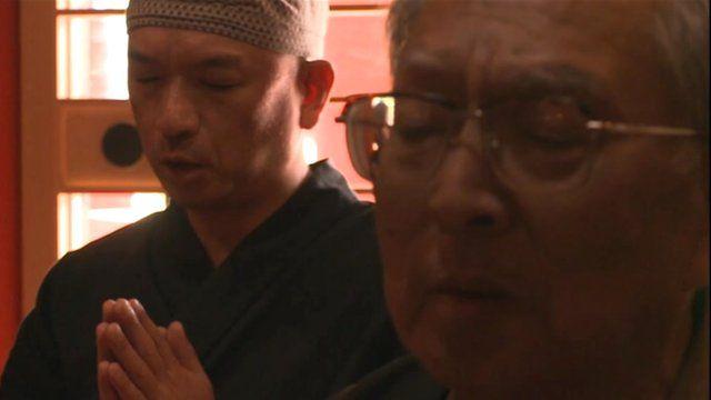 Zengoro Hoshi and his son