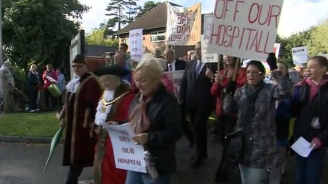 Health campaigners in Wales