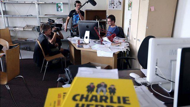 Charlie Hebdo office