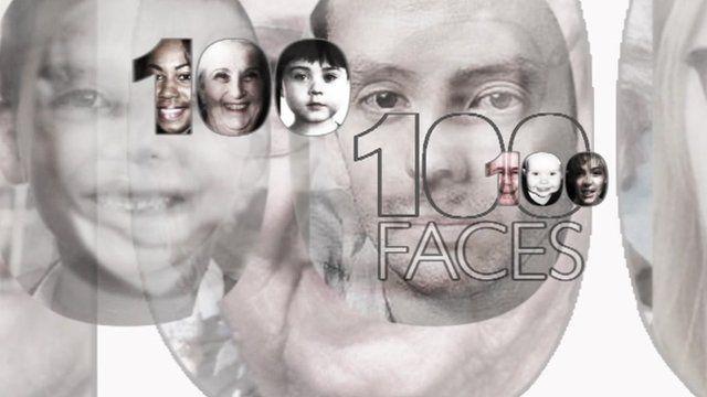 100 Faces - music by Benjamin Till