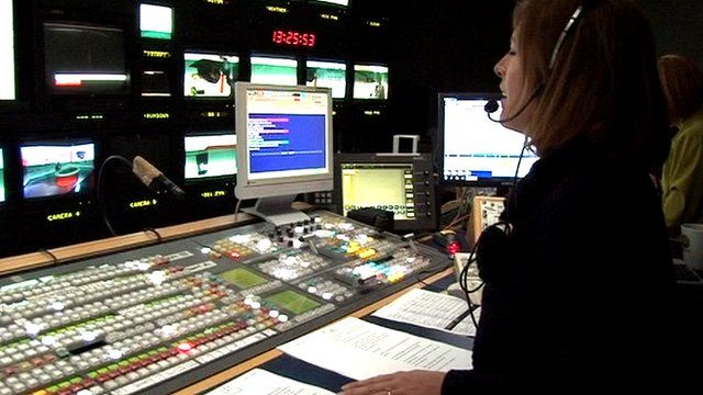 Television production gallery