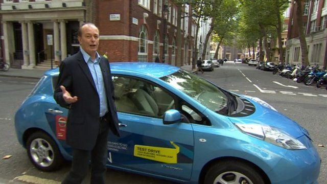 Quentin Willson and electric car