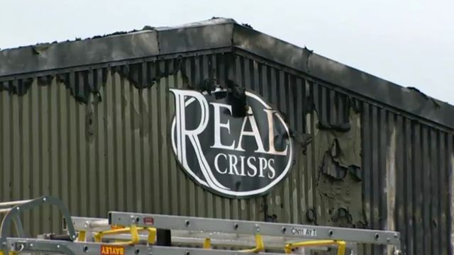 Real Crisps factory, Crumlin, south Wales