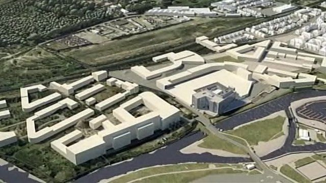 Impression of Northamptonshire's planned enterprise zone