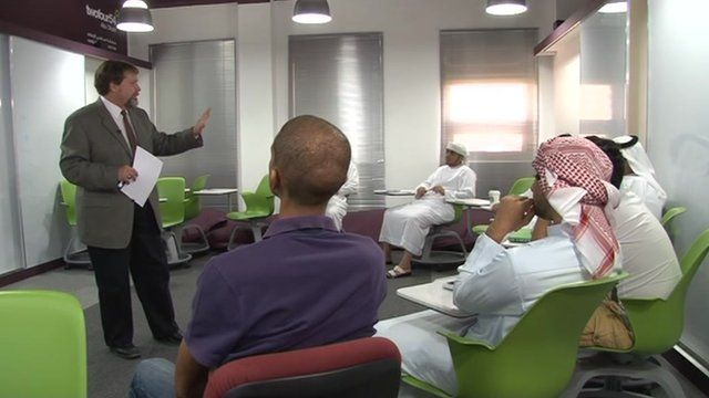Class at a UAE Federal University