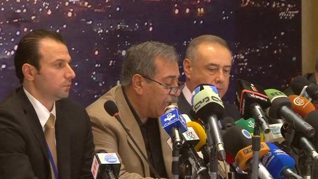 Syrian-based opposition party leaders