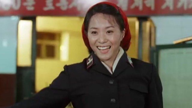 Scene from Comrade Kim Goes Flying