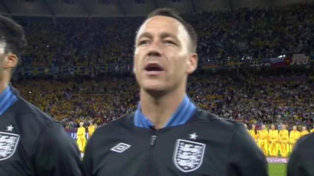 John Terry at EURO 2012
