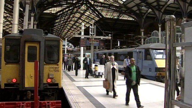 Rail travellers generic