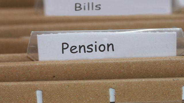 Pensions paperwork