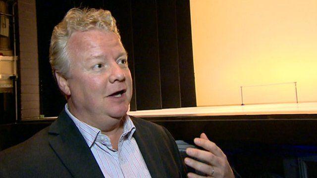 Birmingham Hippodrome's chief executive Stuart Griffiths