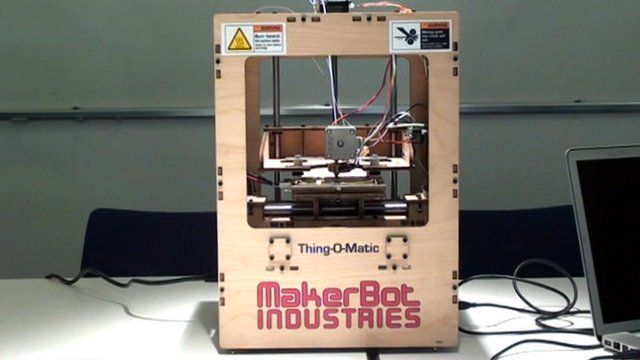 A Thing-O-Matic Makerbot