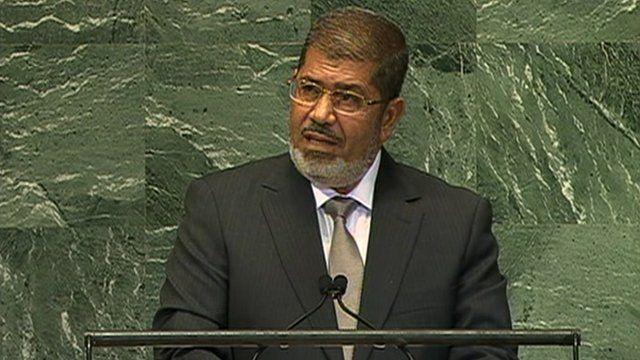 President Mohammed Mursi