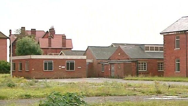 The former HMS Daedalus site in Gosport