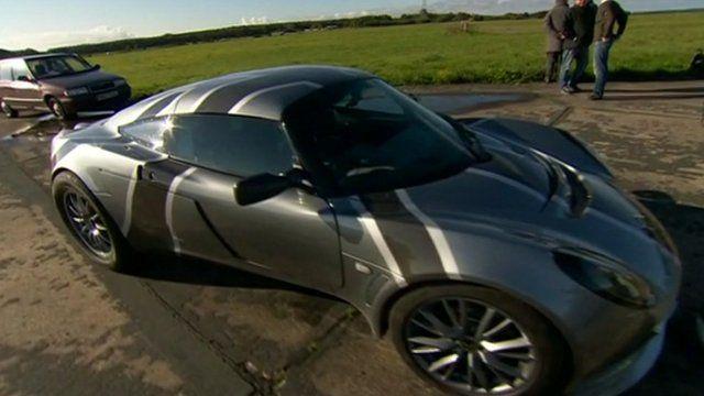 The Nemesis battery-powered car