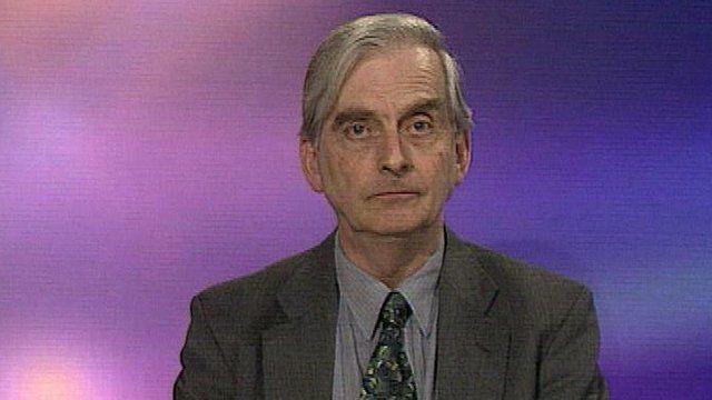 Hugh Pennington, Professor of Bacteriology at University of Aberdeen