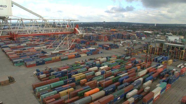 Southampton's container terminal