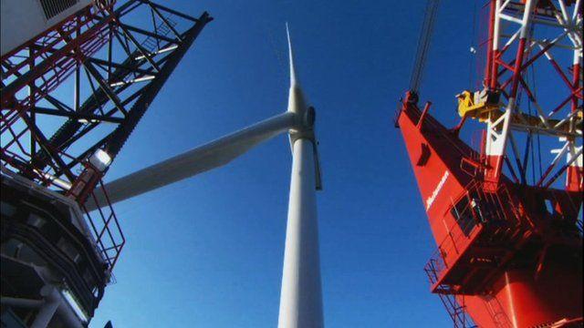 Construction of Sheringham Shoal windfarm