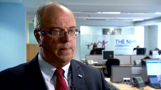 NHS chief executive Sir David Nicholson