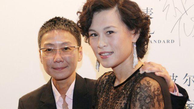 Gigi Chao (r) with Sean Eav