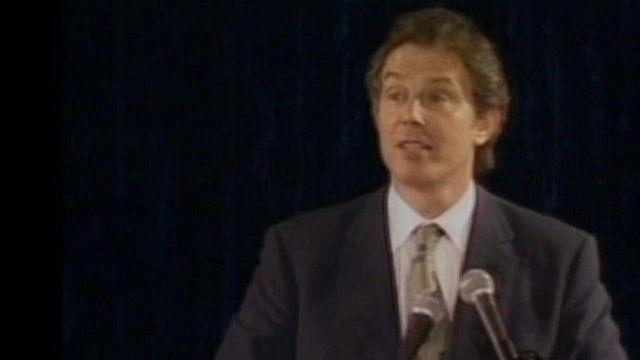 Tony Blair in 1999